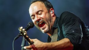 Dave Matthews Jamming on stage during the summer tour 2018