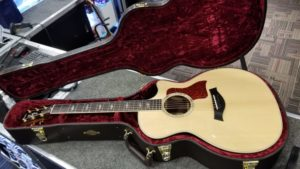 Taylor 414ce Limited Edition with soundhole inlay