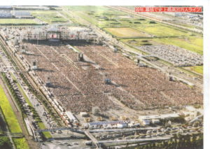 Glay Expo '99 Biggest Concert Ever Overhead View