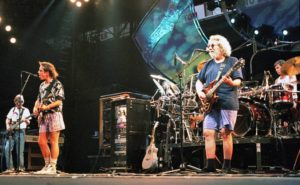 The Grateful Dead Performing in the late 1980s