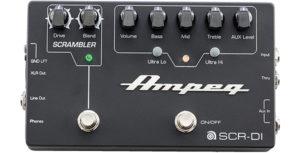 Ampeg SCR DI Bass Preamp with Scrambler Overdrive copy
