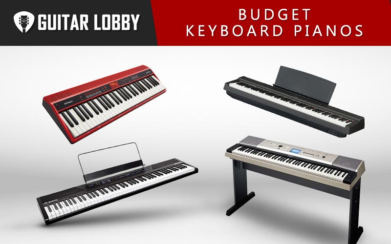 Best Budget Keyboard Pianos Featured Image
