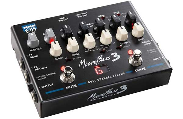 EBS MicroBass 3 2 channel Preamp