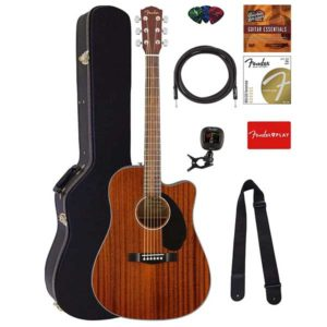Fender CD 60SCE Dreadnought Acoustic Electric Guitar