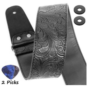 PU Leather Western Vintage Guitar Strap