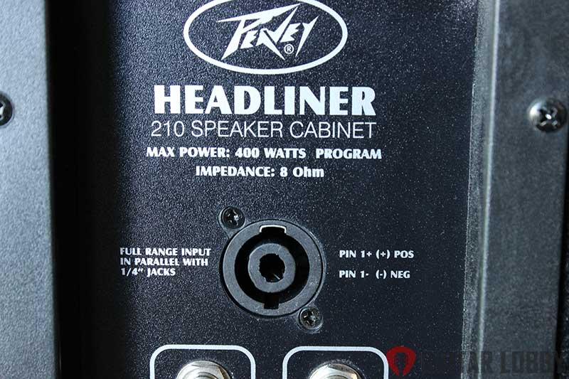 speaker cabinet input jack