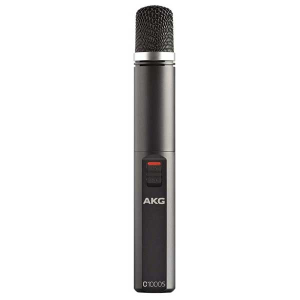 AKG Pro Audio C1000S High-Performance Small Diaphragm Condenser Mic
