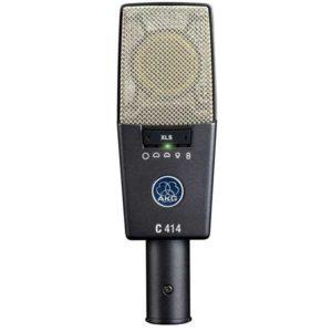 AKG-Pro-Audio-C414-XLS-Instrument-Multipattern-Condenser-Microphone