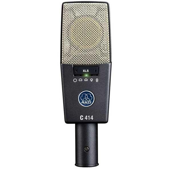 AKG Pro Audio C414 XLS Instrument Multipattern Condenser Microphone
