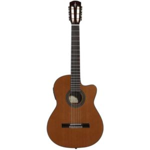 lvarez Artist Series AC65CE Classical Acoustic-Electric Guitar Natural