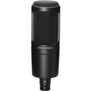 Audio-Technica-AT2020-Cardioid-Condenser-Studio-XLR-Microphone