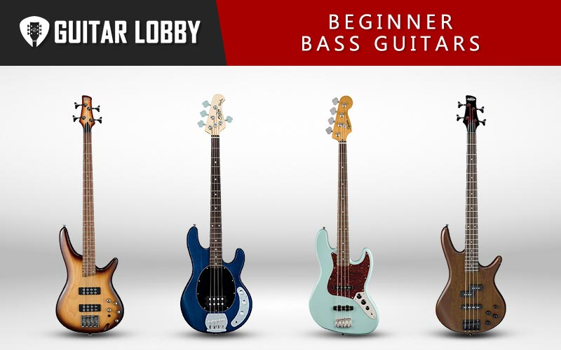 Best Beginner Bass Guitars Featured Image