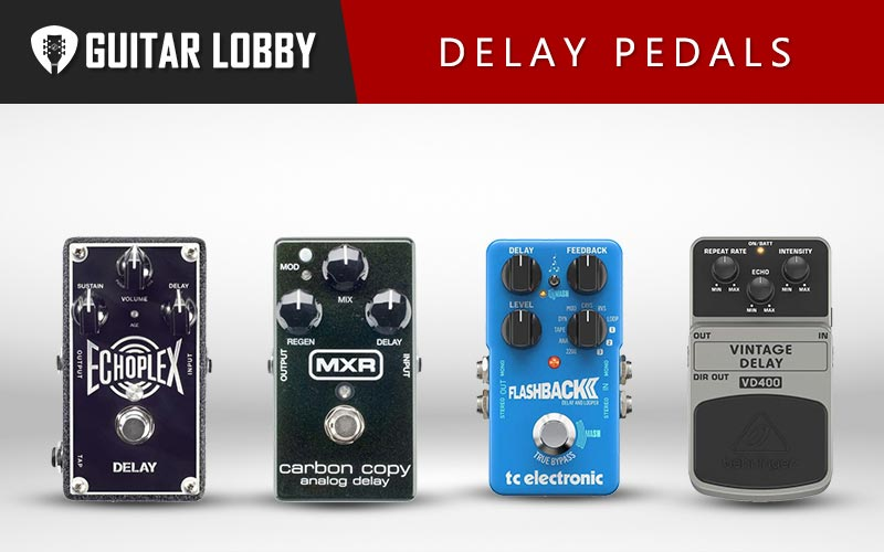 Best Delay Pedals Featured Image