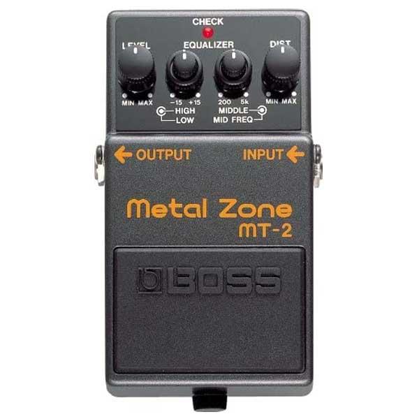 Boss MT 2 Metal Zone Distortion Pedal