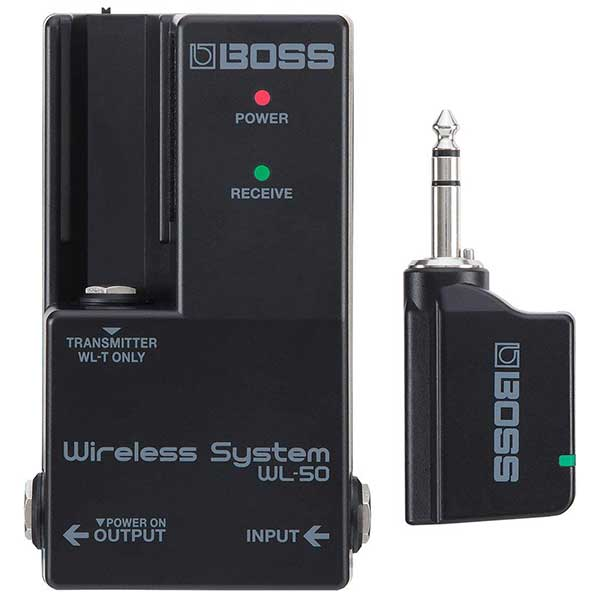 Boss WL 50 Guitar Wireless System