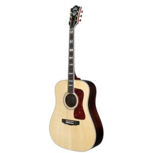 Guild USA D-55 Traditional Dreadnought Acoustic Guitar Natural