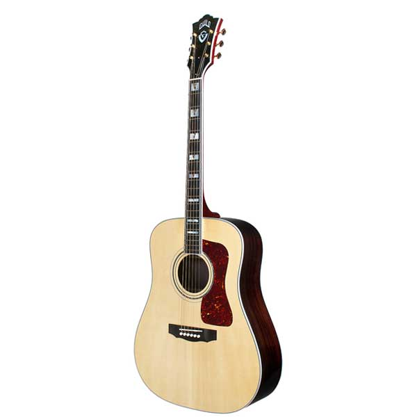 Guild USA D55 Traditional Dreadnought Acoustic Guitar Natural