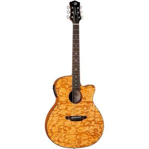 Luna Gypsy Grand Concert Acoustic-Electric Guitar