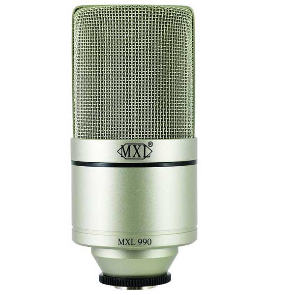 MXL 990 XLR Connector Condenser Microphone