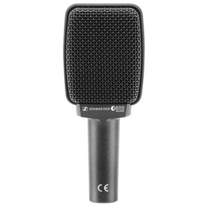Sennheiser-E609-Silver-Super-Cardioid-Instrument-Microphone