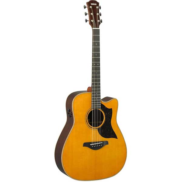 Yamaha A5R ARE Folk Acoustic-Electric Guitar Vintage Natural