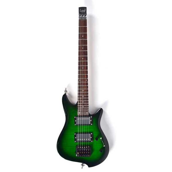Asmuse Headless Electric Guitar Overhead Travel Guitar Small