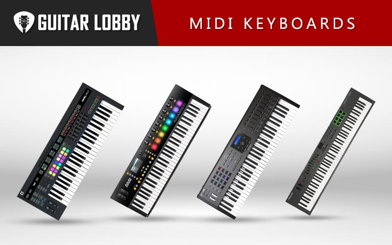 Best MIDI Keyboards Featured Image