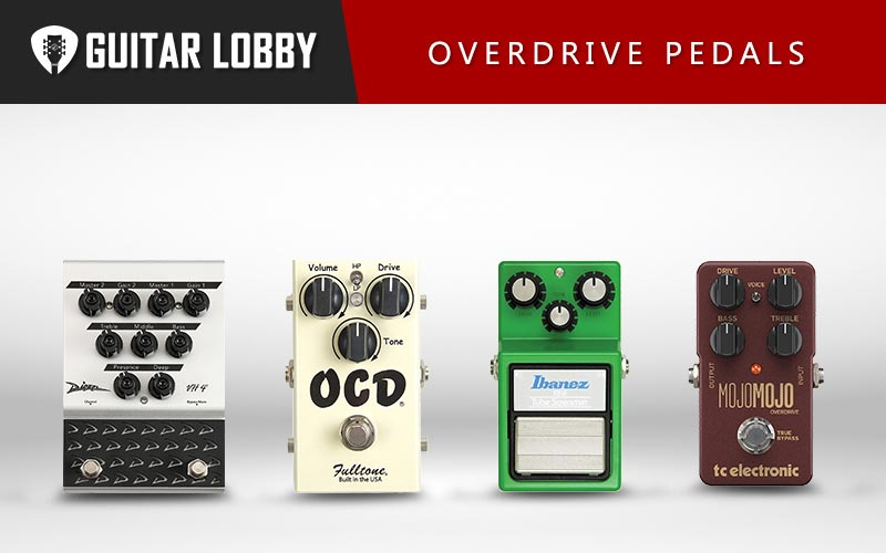 Best Overdrive Pedals Featured Image