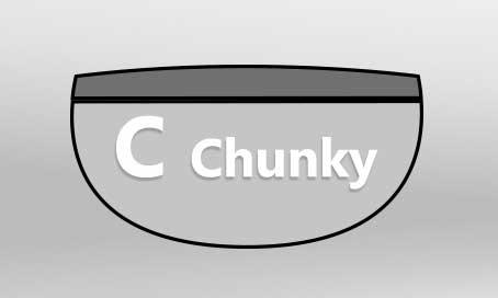 C-Chunk Guitar Neck Shape