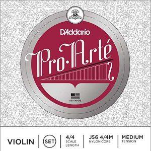 D'Addario J56 4/4M Pro-Arte Nylon violin strings