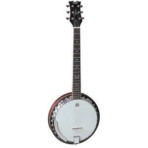 ean Backwoods 6 String Banjo Guitar