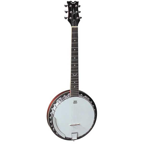 Dean Backwoods 6 String Banjo Guitar