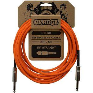 Orange Crush Instrument Cable