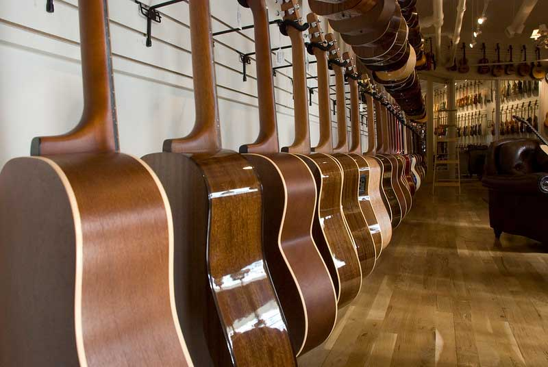 Types of Acoustic Guitars Featured Image