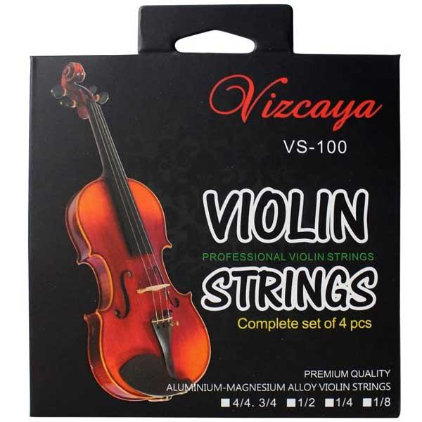 Vizcaya Violin Strings Set