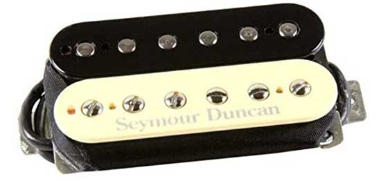 Example of a humbucker guitar pickup
