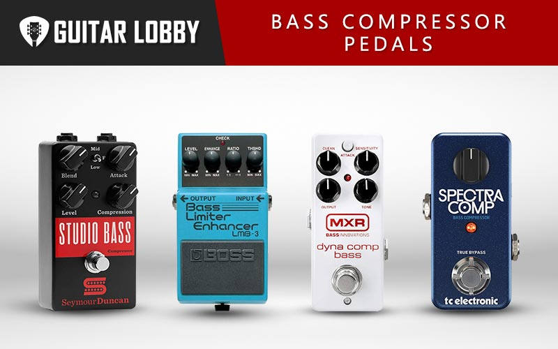 Best Bass Compressor Pedals Featured Image