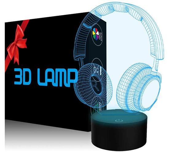 Cool 3D Illusion Lamp