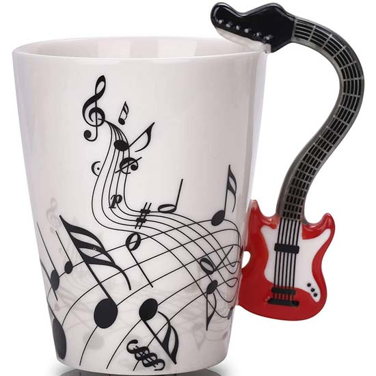BUYNEED Guitar Mug