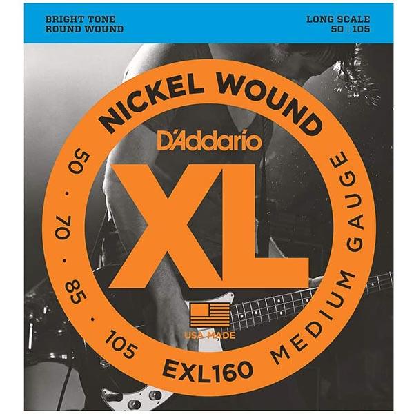 D'Addario EXL160 Nickel Wound