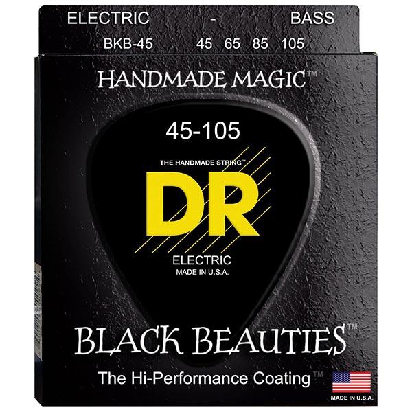DR Strings Black Beauties