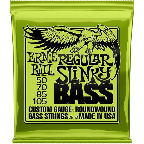 Ernie Ball Regular Slinky Nickel Wound Bass Set 050