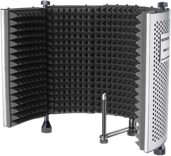 Foldable Studio Isolation Shield