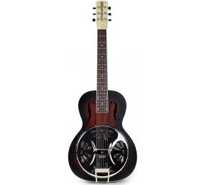 Gretsch Guitars G9230 Bobtail Square-Neck Mahogany Body Spider Cone Resonator Acoustic-Electric Guitar