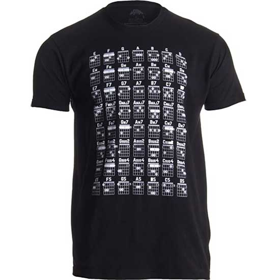 Guitar Chords Shirt
