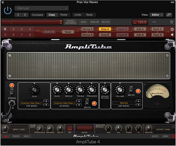 IK Multimedia Amplitube 4 Custom Shop Example
