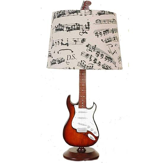 Creative Motion Guitar Desk Lamp