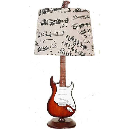 Music Themed Desk Lamp