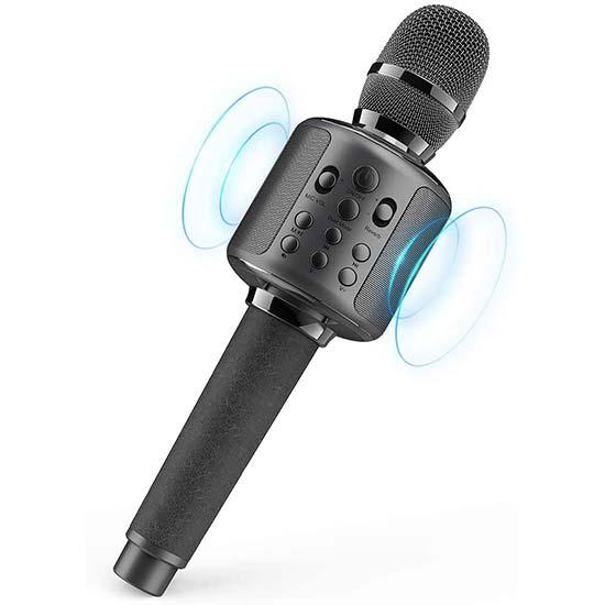 Portable Karaoke Microphone
