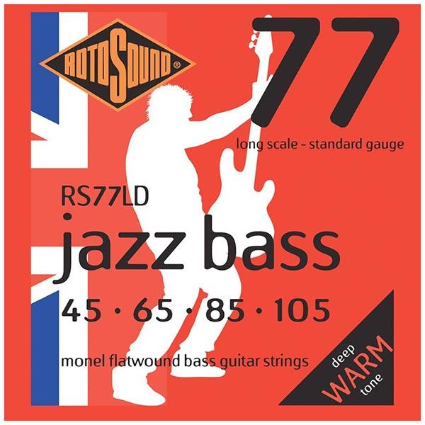 Rotosound Jazz Bass 77 Flatwound Bass Strings